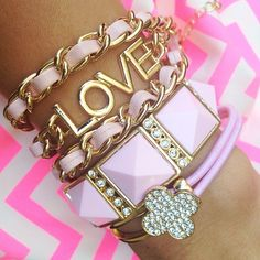 Love the bracelet combinations