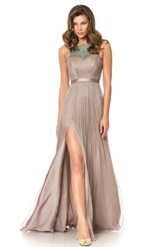Slip into pure glamour in this stunning #CRISTALLINI full length #evening #gown, now at promotional price!