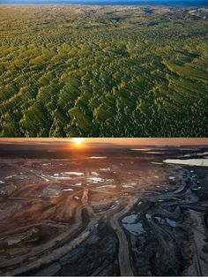 Canadian Oil Sands, Before & After Oil Sands, Global Warming, Ecology, Sustainability, Greenery, Planets, Recycling, Future Tense, Environment