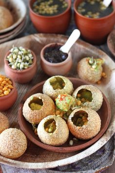 Avocado Pani Puri! SOUNDS AMAZING THOUGH!