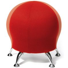 Exercise Ball Chair-I would love this for work!