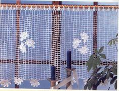 Crocheted Lace Curtains - diamondinapril - Picasa Web Albums