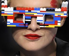 Lego Eyewear by Jean-Charles de Castelbajac #glasses #lunettes #spectacles #crazy - Carefully selected by GORGONIA www.gorgonia.it