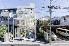 Tokyo's Modern Transparent House