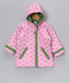 Take a look at this Pink Whale Hooded Raincoat - Infant & Toddler by i play on #zulily today!