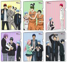 Kuroko no basket x Lecteur(trice) FR - Fangirlage - Basketball Aomine Kuroko, Akashi Seijuro, Kagami Taiga, Kurokos Basketball, Kuroko No Basket Characters, Desenhos Love, Kiseki No Sedai, Akakuro, Generation Of Miracles