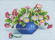 Shop online for Vase Full of Daisies Cross Stitch Kit at sewandso.co.uk. Browse our great range of cross stitch and needlecraft products, in stock, with great prices and fast delivery.