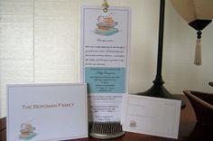 Book Themed Baby Shower Invitation by ljabara on Etsy