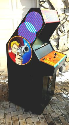 Berzerk arcade cabinet | The Arcade is on Fire | Pinterest