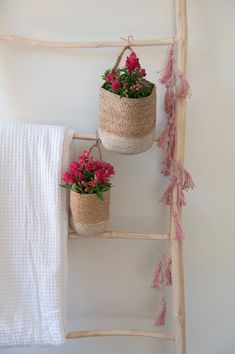 Dress up your space with our eclectic selection of handwoven eco-friendly baskets. Whether you use them as storage baskets or as planters to decorate your home, they come in a variety of sizes, colours and shapes to go with your decor. Our wicker baskets are made of environmentally sustainable jute & seagrass. Large Baskets, Baskets On Wall, Hanging Baskets, Storage Baskets, Wicker Baskets, Wall Basket, Two Tone Walls, Tassel Garland, Garlands
