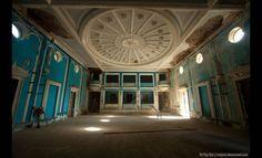 Abandonments in the Ghost Town of Gagra, Georgia (Abkhazia), Russia: Cinema