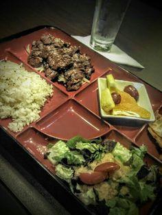 College Station, TX: 40 Tempura beef bento box