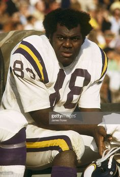 Defensive tackle Alan Page of the Minnesota Vikings. Royalty Free Images, Royalty Free Stock Photos, Professional Football, National Football League, Minnesota Vikings, Photo Library, Vector Art, Cool Photos, Nfl
