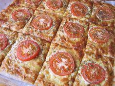 Sabor Saudade: Pizza do meu jeito: massa integral finíssima