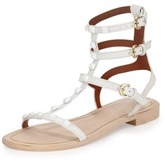 d4ddc61704a8 Rebecca Minkoff Georgina Studded Gladiator Sandal (170 CAD) ❤ liked on  Polyvore featuring shoes