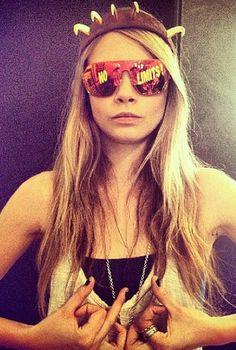 48a7b6aa1ea 92 Best Cara Delevingne Sunglasses images