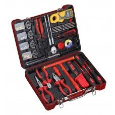 Commercial Tool> Mechanic Tool Set: 139 PC Electrician & Insulated Tool Set