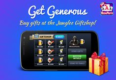 What's your Favorite Gift from the Gift Shop? Download Junglee TeenPatti Free from  Android PlayStore and Apple AppStore today! For Android : http://app.adjust.io/9b3649 For iOS : http://goo.gl/YjNzwg #Poker