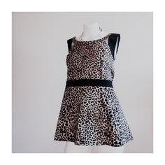 🎉HOST PICK🎉Torrid Top Leopard print! Browns, tans and black torrid Tops