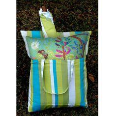 Outdoor Magnolia Casual Prism Garden Hammock Chair & Pillow Set - BBPG11-SP