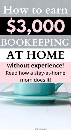 Are you interested in starting an online bookkeeping business from home? Read how this stay at home mom job helps moms earn a full time income from home Work From Home Jobs, Make Money From Home, Way To Make Money, Online Bookkeeping, Bookkeeping Business, Best Online Jobs, Legitimate Online Jobs, New Business Ideas, Home Based Business
