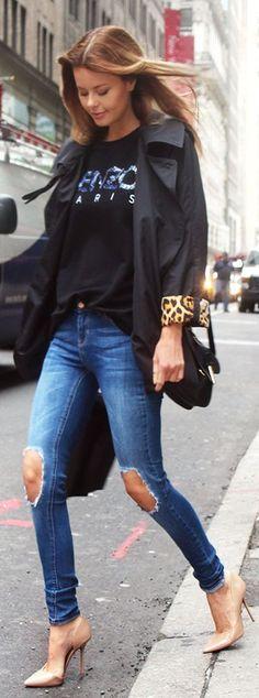 Kenzo Black  kenzo Paris  Printed Women s Sweatshirt by Stylista New York  Outfits, Street 1aba0a93bb6