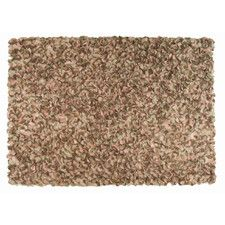 Frisco Peony Brown Area Rug
