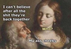 Funniest Memes, LOL Can't Stop Laughing New Year's Special) Why not start 2020 with a few laughs from these hilarious New Year memes?win, Daily Fresh Memes, Funny Pics and Quotes Renaissance Memes, Medieval Memes, Stupid Funny, Funny Texts, Silly Jokes, Classic Memes, Classical Art Memes, History Jokes, Funny History