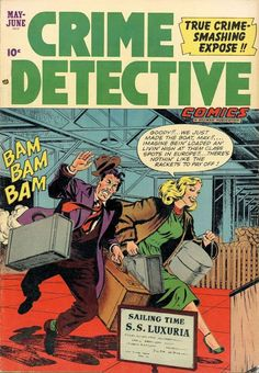 Crime Comics, True Crime, Bambam, Detective, Comic Books, Superhero, Funny, Funny Parenting, Cartoons