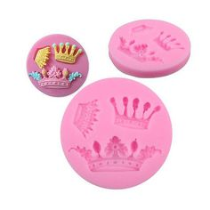 New DIY Crown Silicone Fondant Decorating Mold Cake Baking Mould Sugarcraft Tool