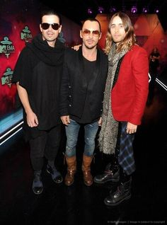 Thirty Seconds to Mars at the EMA.