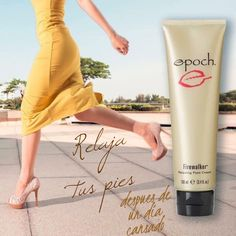 Epoch Firewalker is a soothing cream that relaxes and cools hot, tired, sore feet, after being on your feet all day or a night of dancing. Inbox me for more details Nu Skin, Epoch Sole Solution, Beauty Care, Beauty Hacks, Beauty Tips, Best Skincare Products, Skin Products, Beauty Products, Sore Feet