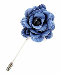 FOR HIM - Lanvin rose lapel pin. Lapel Flower, Stylish Watches, Suit And Tie, Well Dressed Men, Lapel Pins, Lanvin, Bows, Mens Fashion, Jewels
