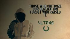 Those who criticize our generation forget who raised it.