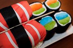 Sushi Cloth Diaper Cake