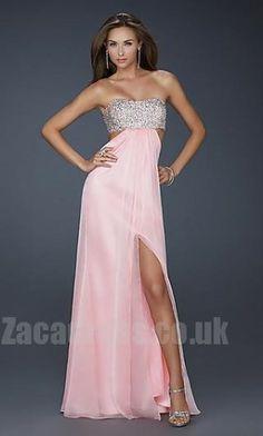 La Femme 16291c Natural Cheap Column Evening Dresses