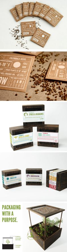 Alisha Bube / Brand identity & packaging concept - The Remedy Kit