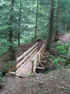 La chute à Louise - Missisquoi Nord - Sentiers de randonnée | Cantons-de-l'Est (Estrie)