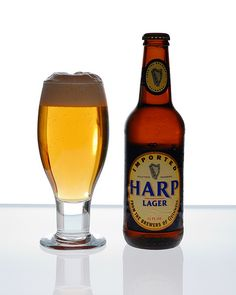 Harp Lager, (sometimes marketed as Harp Irish Lager) is a pale lager brand created in 1960 by the Guinness Brewery (now Diageo) in its Dundalk brewery. It is a leading lager brand in Ireland, and is also popular in Australia, Canada, Africa and the United States.