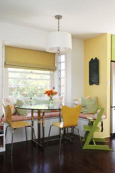 elizabeth & david's house tour (LA) : colorful kitchen