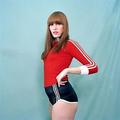 this isn't happiness™ - photo caption contains external link Red Heads Women, Photo Caption, 70s Fashion, Redheads, Cheer Skirts, The Past, Gym Shorts Womens, Feminine, Costumes