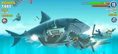 Are you looking for an exciting android game? Hungry Shark Evolution is one of the best thrilling Android games ever available on the Play Store. Shark S, Shark Week, Baby Shark, Megalodon, Wild Panther, World Generator, Shark Games, Species Of Sharks, Best Android Games