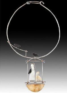 Jewelry art by Carolyn Morris Bach / Art & Design