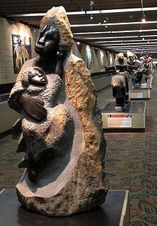 Zimbabwe Sculpture: a Tradition in Stone at Atlanta Airport #ATL