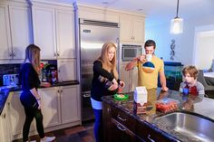 Family Life, Large Families, Kitchens