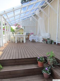 Pergola Patio Pergola Patio Patio Patio attached to house Patio covered Patio diy Patio ideas Patio ideas freestanding Pergola Patio terassi,terassikukat,pelargonia,lasitus,kuisti