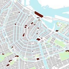 Urban Analysis by Anastasija Gridneva, via Behance