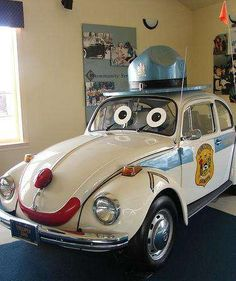 Vw Super Beetle, Beetle Car, Volkswagen Type 3, Bug Car, Cool Bugs, Weird Cars, Vw Cars, Unique Cars, Car Humor