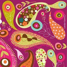 print & pattern:  carolyn gavin
