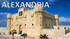 ALEXANDRIA - Egypt [HD] Travel Tours, Free Travel, Travel Guide, Alexandria City, Alexandria Egypt, Luxor, Blue Sky Travel, Egypt Culture, Visit Egypt